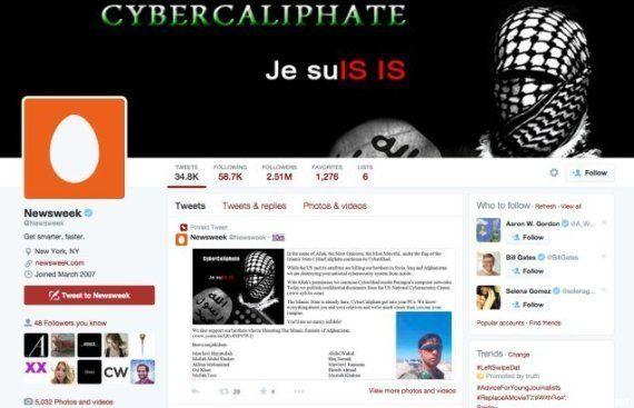 'Cibercalifado' ataca conta no Twitter da Newsweek e ameaça família