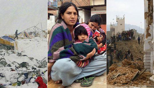 FOTOS: Maior terremoto dos últimos 81 anos devasta o