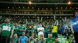 Palmeiras terá torcida única em partida decisiva contra
