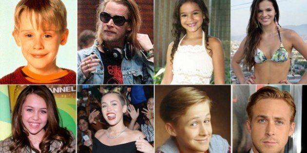 Antes e depois dos famosos: veja a mudança de diversos atores e atrizes mirins