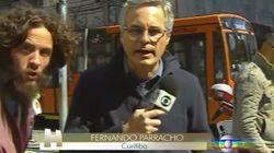 ASSISTA: Homem invade link ao vivo da Globo e prova que Curitiba é mesmo a 'Rússia