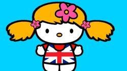 Esta é uma versão atualizada da Hello Kitty como