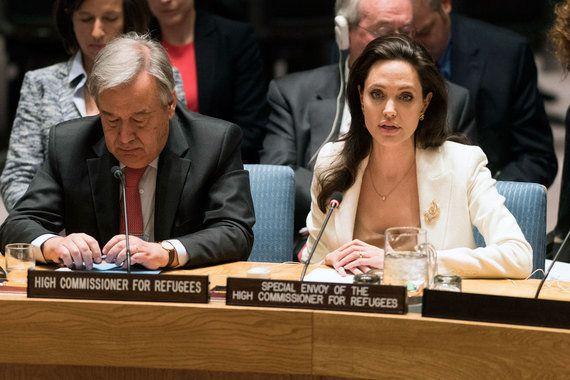 Na ONU, Angelina Jolie Pitt fala em 'obrigação moral inevitável' em ajudar