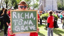 Sem aulas: Professores estaduais retomam greve no