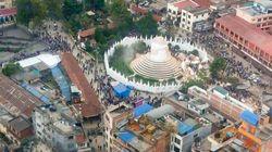 ASSISTA: Imagens aéreas mostram destruição causada pelo terremoto no