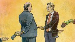 'Existe uma relação direta entre a corrupção estrutural e a felicidade da