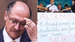 Após dizer que 'não há greve de professores', Alckmin vira piada nas redes