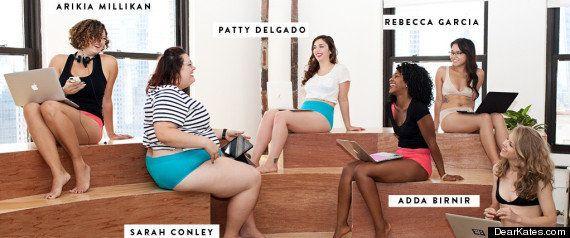 Anúncio da marca 'Dear Kate' apresenta executivas de tecnologia em roupas