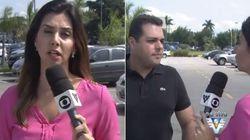 ASSISTA: Repórter da Globo é assaltada AO VIVO no Guarujá