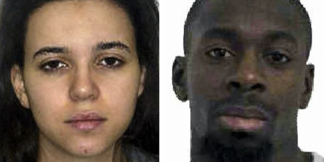 UNSPECIFIED - JANUARY 09: Photo provided by French Interior Ministry on January 9,2015 shows that suspects...