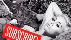 Nua com animais de pelúcia: Miley Cyrus mistura infância e sexualidade na V