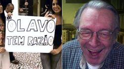 ASSISTA: Direitistas de Curitiba criam marchinha em homenagem a Olavo de