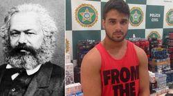 Preso, traficante Karl Max abastecia academias da zona sul do Rio de