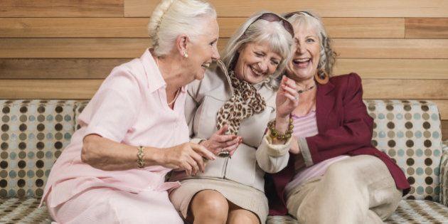 Envelhecer é como estar se recuperando, mas de uma forma muito mais