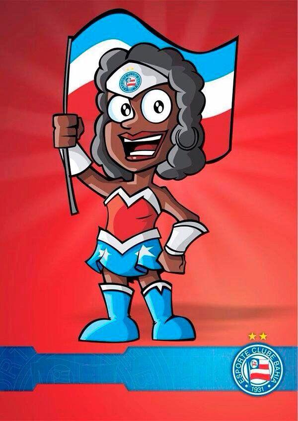 Bahia lança mascote negra, a Lindona da Bahêa, para fortalecer a luta contra o racismo no