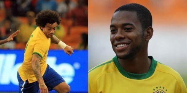 Dunga corta Alex Sandro e Hulk por contusão e chama Marcelo e Robinho para