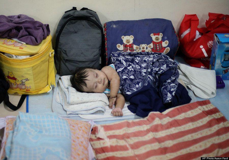Tufão nas Filipinas: Moradores do país fogem para abrigos à medida que Hagupit se aproxima