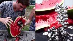 Veja o que acontece quando você despeja alumínio derretido em uma