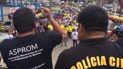 Professores e policiais, unidos contra o governo do AM, ameaçam
