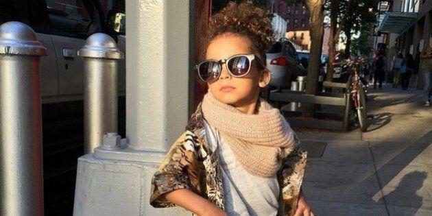 Fofa e cheia de estilo: garota de 3 anos faz sucesso no Instagram