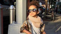 Garotinha fashionista de apenas 3 anos faz sucesso no