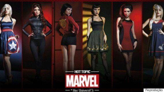 Disney lança linha de roupa feminina inspirada em 'Vingadores: Era de