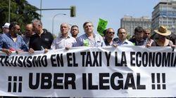 O que está por trás da revolta dos taxistas europeus contra o