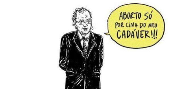 Esta charge prova que o deputado Eduardo Cunha só pensa em si mesmo