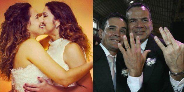 Brasil celebra 3.701 casamentos civis de gays e lésbicas em