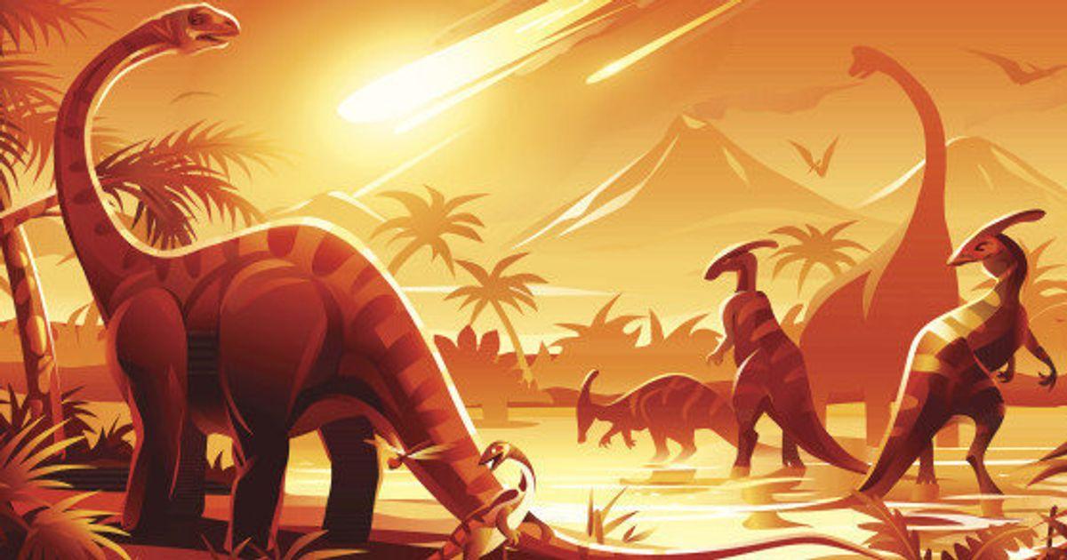 Estávamos errados sobre o asteróide que matou os dinossauros