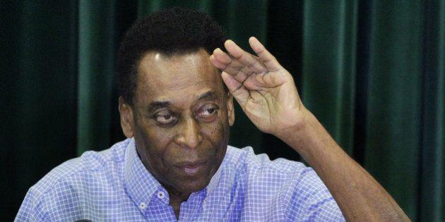Bem-humorado, Pelé diz que não teve medo de morrer por ser