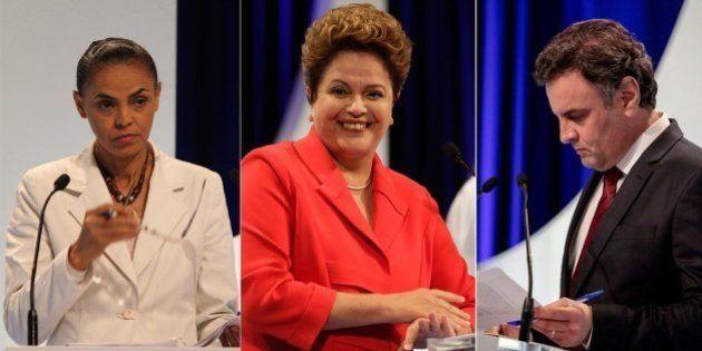 Sai PSDB, entra PSB: Dilma Rousseff consolida polarização com Marina Silva no 2º debate presidenciável...