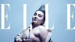 Esta capa quer revolucionar a história das revistas de moda no Brasil
