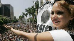 Com 97 anos de Carnaval, Bola Preta arrasta milhares de foliões no centro do