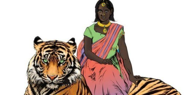 HQ na Índia tem super-heroína sobrevivente de estupro que combate violência sexual