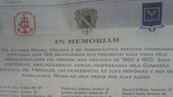 Militares publicam anúncio com lista de 'vítimas do