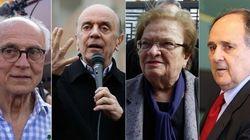 Serra, Suplicy, Cristovam e Erundina: possíveis ministros de Marina Silva, se