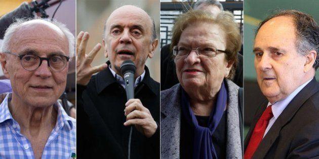 Equipe de Marina na Esplanada poderá ter José Serra, Eduardo Suplicy, Cristovam Buarque e Luiza Erundina,...