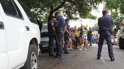 Confusão na Vila Madalena deixa rastro de sujeira e pelo menos quatro
