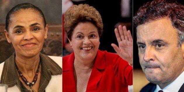 Dilma recupera fôlego, Marina avança e Aécio acentua queda na disputa presidencial, segundo