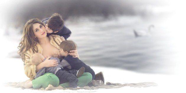 Esta fotógrafa quer que a amamentação seja vista da forma mais natural e bela