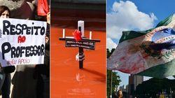 Menos bala, mais giz: O sangue dos professores do Paraná envergonha o