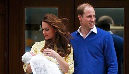 Estas são as primeiras imagens da nova princesinha da realeza
