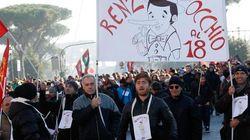 Itália faz greve geral contra reforma trabalhista do governo de