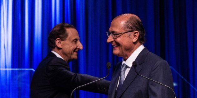 Datafolha: Alckmin perde terreno, mas ainda venceria eleição ao governo de SP no primeiro