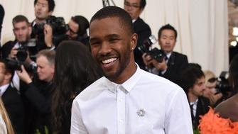 Frank Ocean attends The Metropolitan Museum of Art's Costume Institute benefit gala celebrating the opening of the Rei Kawakubo/Comme des Garçons: Art of the In-Between exhibition on Monday, May 1, 2017, in New York. (Photo by Evan Agostini/Invision/AP)