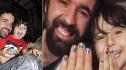 'As cores são para todos', diz pai que pinta as unhas em apoio ao
