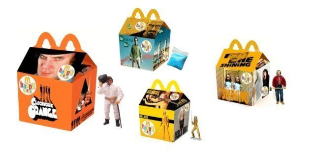 McDonald's: veja como seria o McLanche Feliz inspirado em filmes e séries adultas