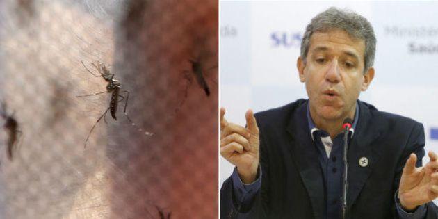 Ministro nega epidemia de dengue e diz que há 'elevação' de