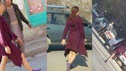 Mulher andando de 'minissaia' causa nas ruas do